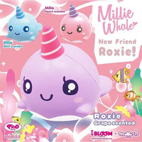 iBloom Roxy the Whale squishy purple millie the whale