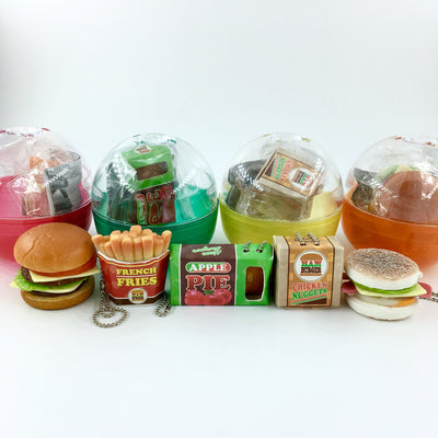 JDream Fast Food Gashapon Miniature Squishies