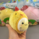 Cutie Creative Clucky Pals Plushy Squishies Shown in Yellow
