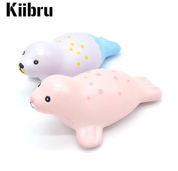 Kiibru Playful Seal Squishies
