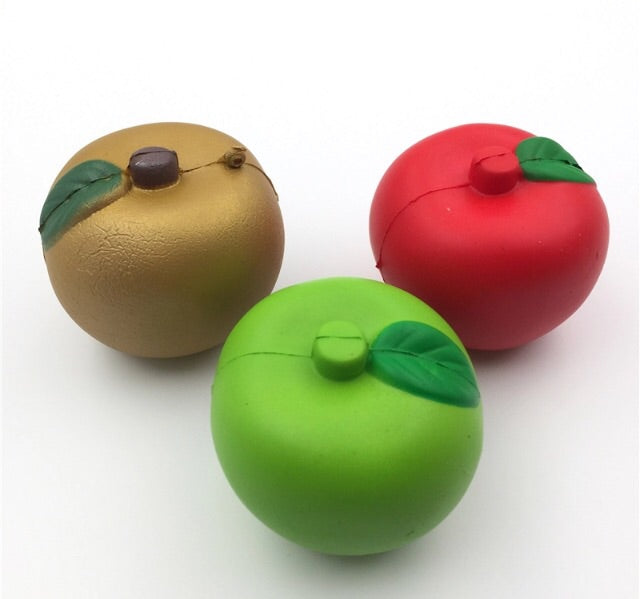 Apple Squishy Charm - IMPERFECT