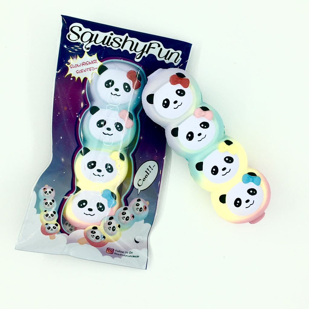 Rainbow Panda Dango Squishy