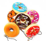 Mini Donut Squishy Charms Top View