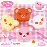 iBloom Tea Time Bear Squishies shown in all four colors