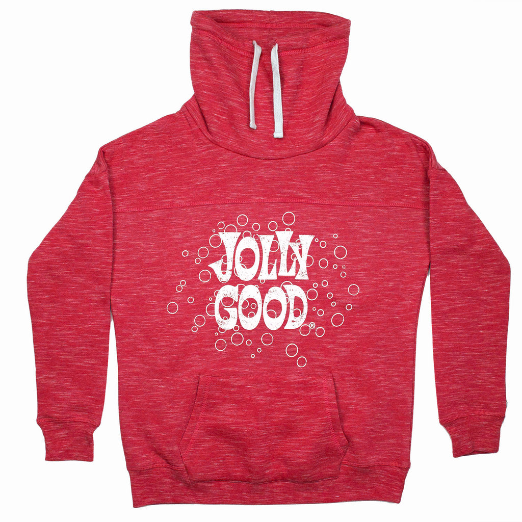 Jolly Good Women's Fleece Cowlneck Sweatshirt