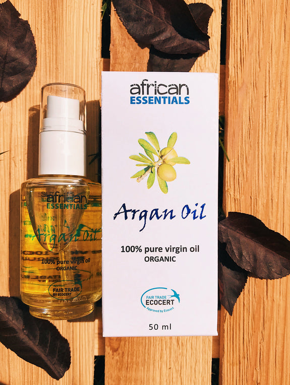 argan oil skin and hair serum
