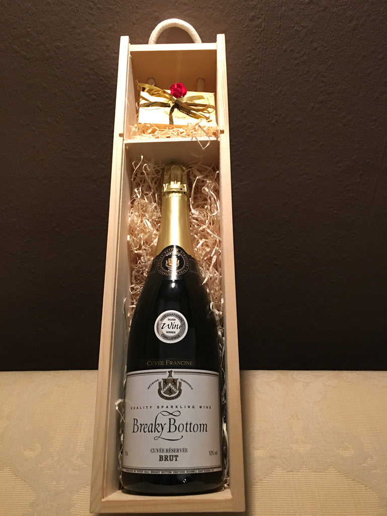 Exclusive 2007 Vintage Bubbles with Handmade truffles for Valentines Day