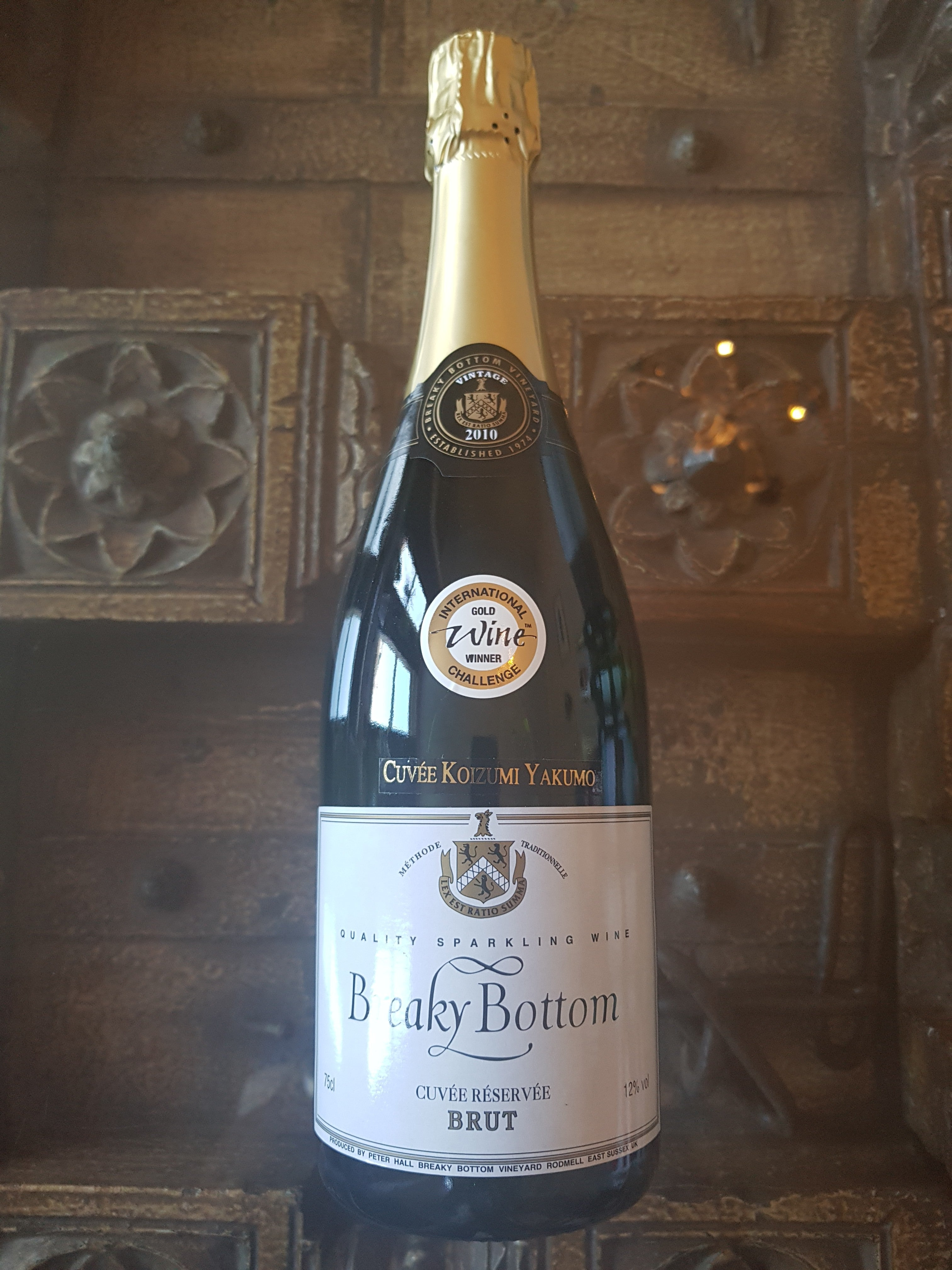 Breaky Bottom Sparkling Brut 2010 Vintage