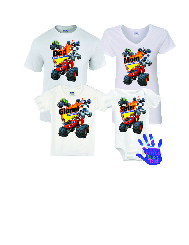 Blaze And The Monster Machines Birthday Shirt