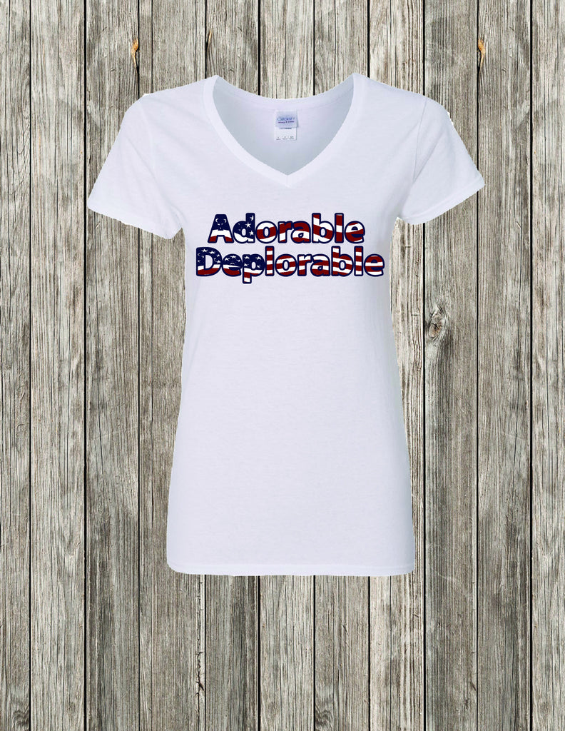 Donald Trump Shirt, Adorable Deplorable