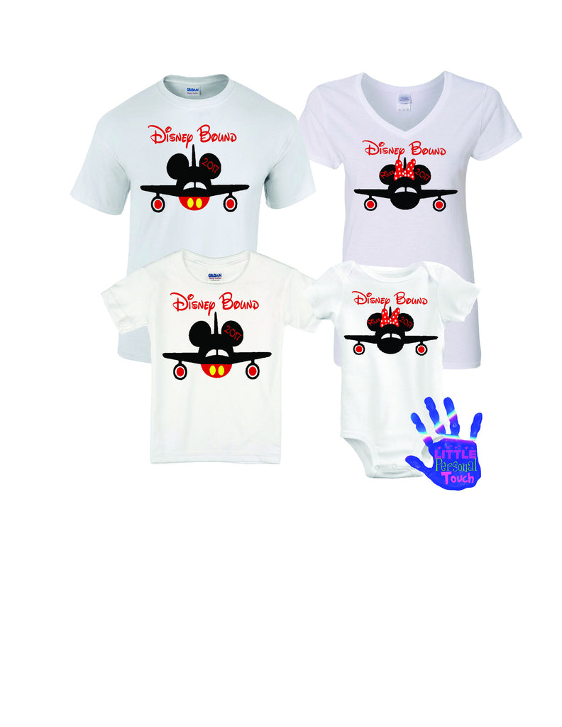 Personalized Disney Family Vacation Shirts, Disney Bound
