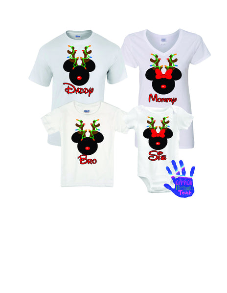 Christmas Disney Shirt, Personalized Disney Family Vacation Shirts, Christmas Disney Family Shirt