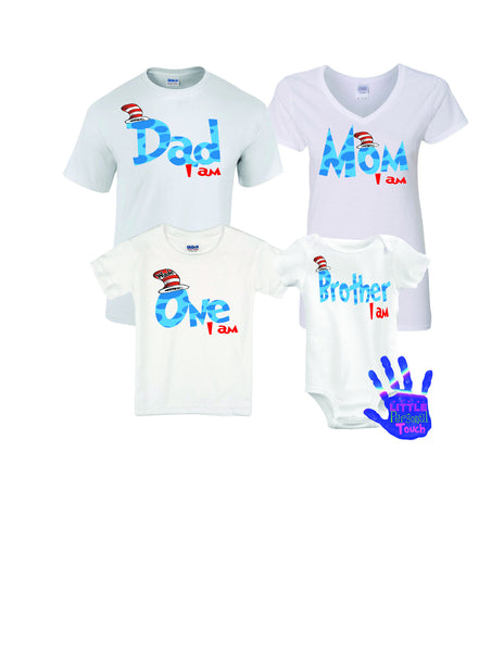 Dr. Seuss Birthday Shirt, Family Dr. Seuss Birthday Shirts