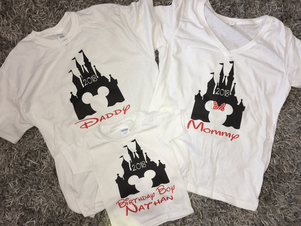 Disney Shirts, Customized Disney Shirts