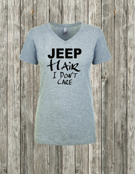 JEEP Hair I Don't Care Shirt