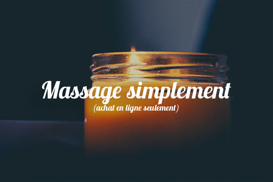 Massage simplement - 60 minutes
