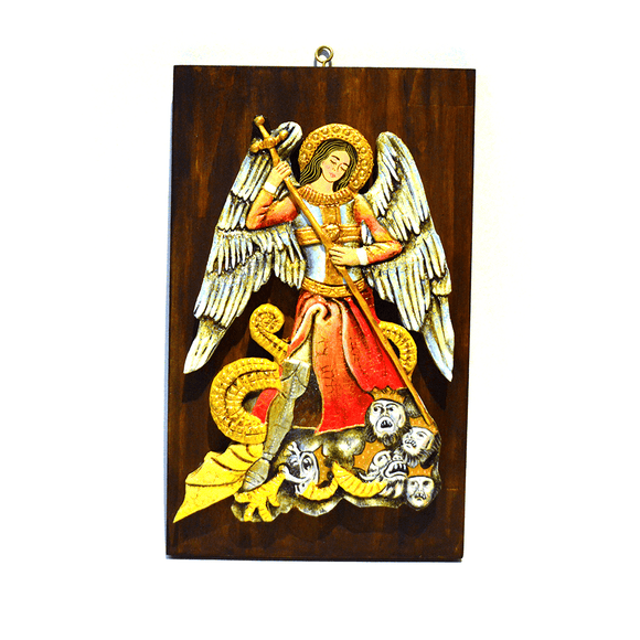 Religious Wood Art - Congo Costa Rica