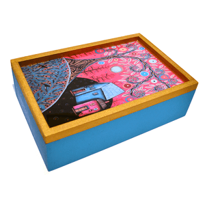 Wood Tea Box - Congo Costa Rica