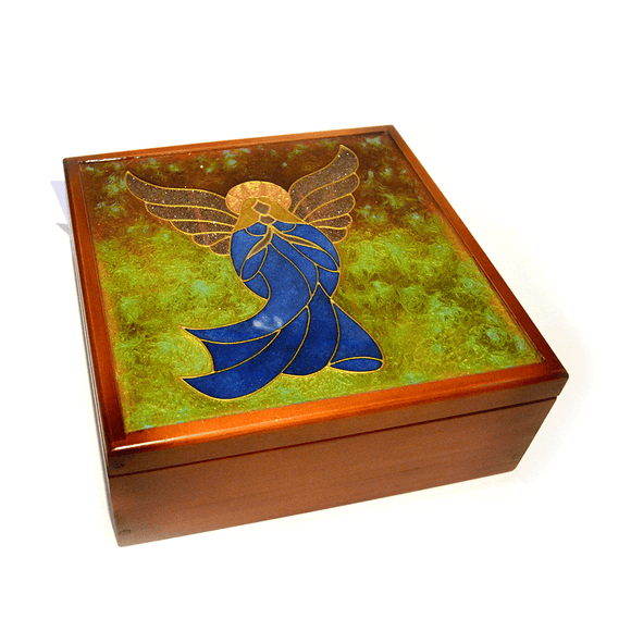 Wood Tea Box