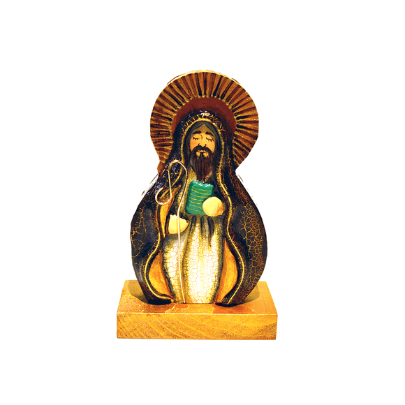 San Benito Wood Religious Sculpture