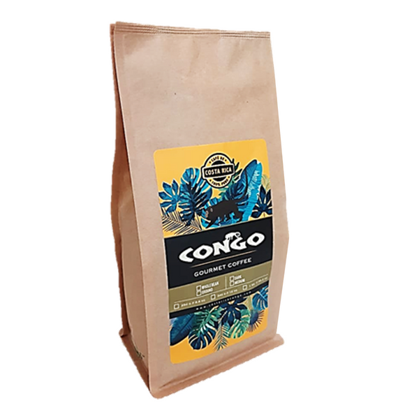 Costa Rican Gourmet Coffee 340g Biodegradable Bag - Congo Costa Rica