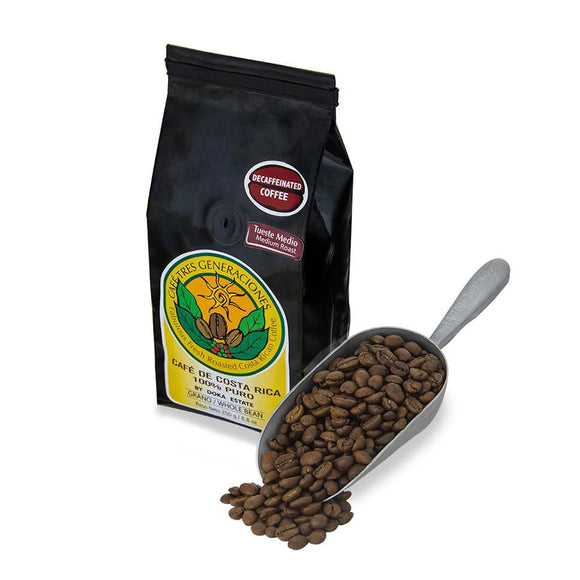 Gourmet Costa Rican Coffee - Decafeinated