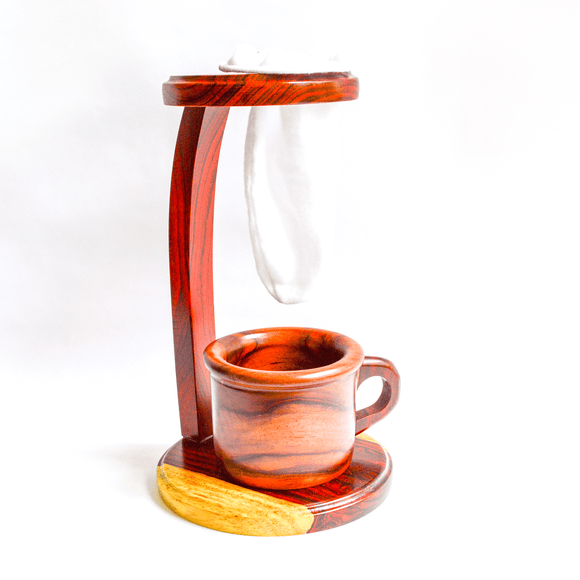 Wooden Coffee Maker/Brewer - Congo Costa Rica