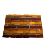 "Costa Rican Handmade Foldable Wood Kitchen Placemat 15""x11"" - Congo Costa Rica"
