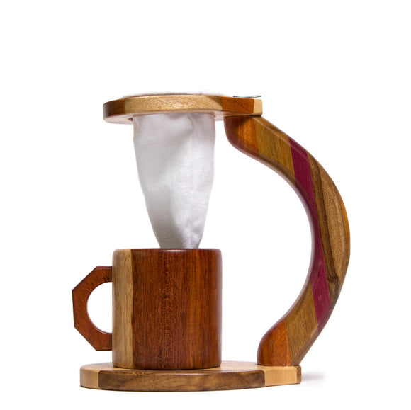 Wood Coffee Brewer