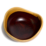 Cocobolo wood bowl