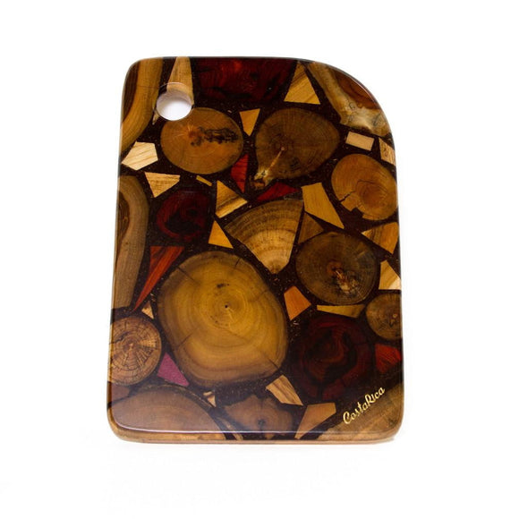 Wood & Resin cutting board - Congo Costa Rica