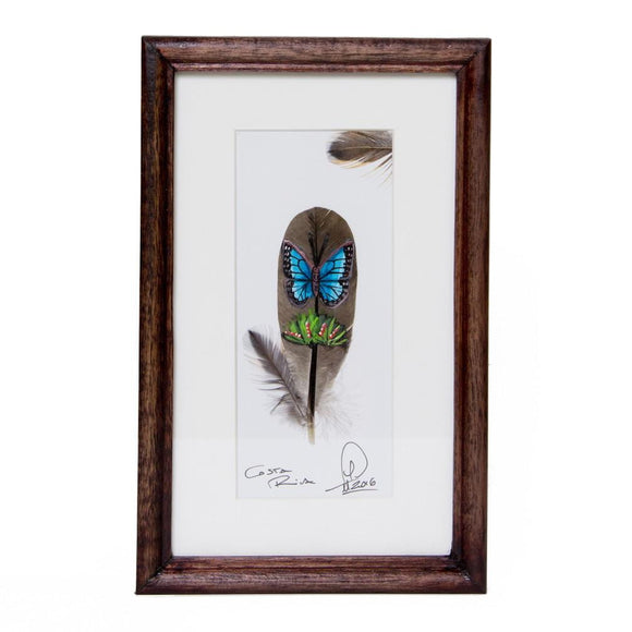 Painted feathers - small size