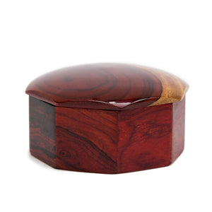 Wood Jewelry Box - Congo Costa Rica