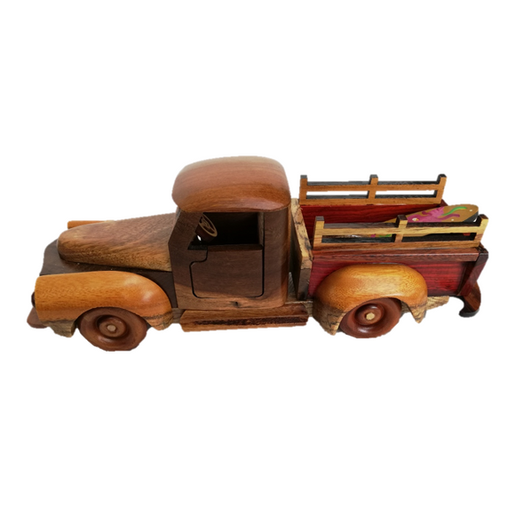 Pickup Wood Toy - Congo Costa Rica