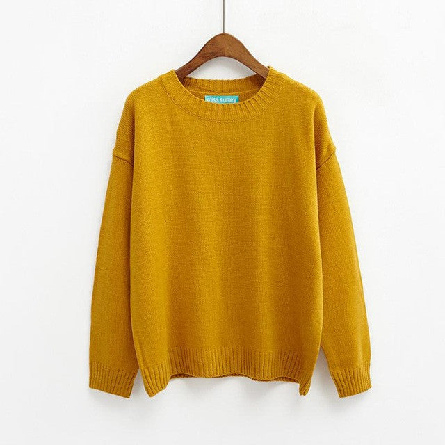 ALL-MATCH BASIC SWEATER