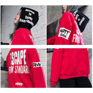 ESCAPE THE STANDARD HOODIE (2 colors)