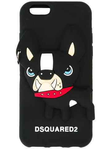 FUNDA IPHONE6 BULLDOG NEGRA
