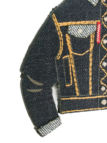 LLAVERO DENIM JACKET DSQUARED2