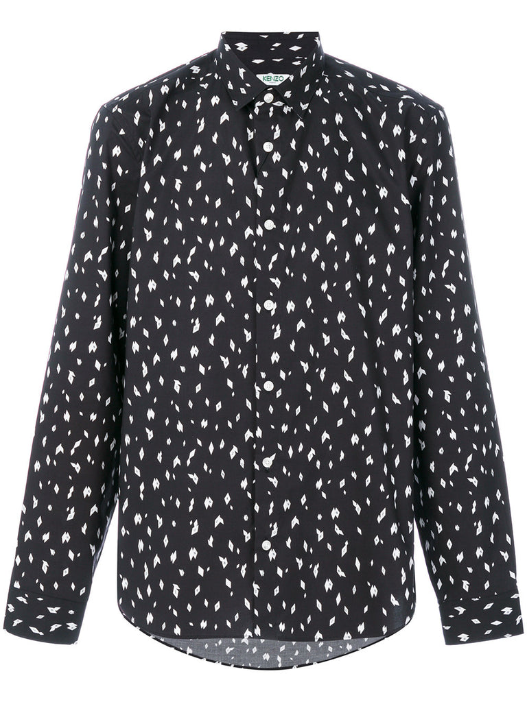 KENZO DIAMOND SHIRT BLACK