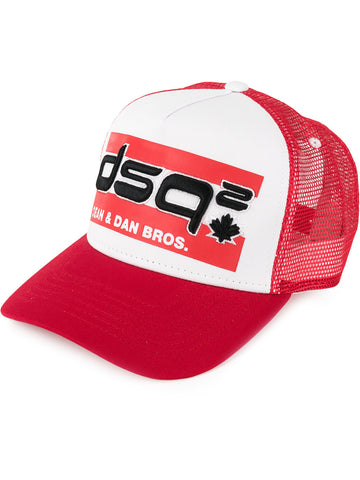 GORRA TRUCKER FAMILY BUSINESS ROJA