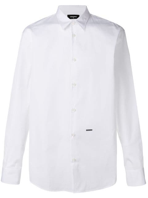 CAMISA LISA DSQUARED2 BLANCA