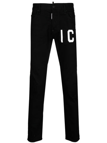 SKATER JEANS DSQUARED2 ICON NEGRO