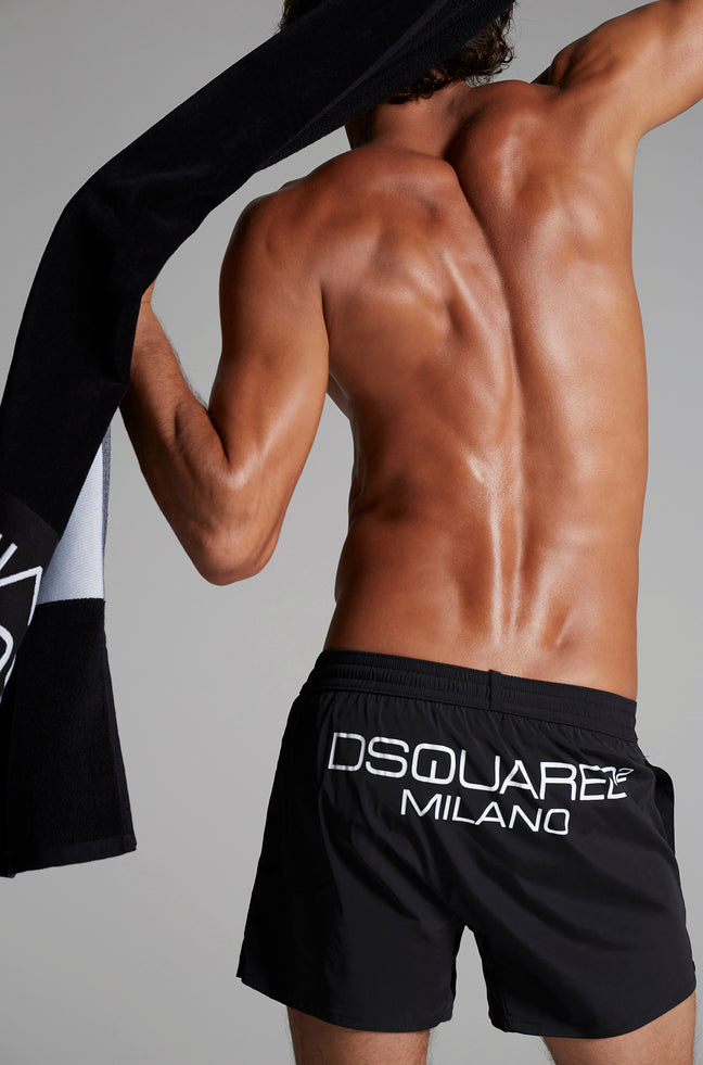 SHORT DE BAÑO DSQUARED2 MILANO