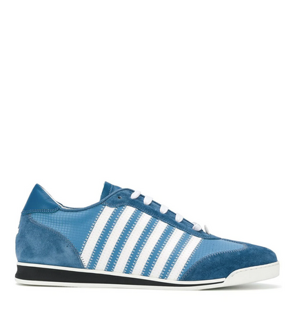 ZAPATILLAS NEW RUNNER AZUL Y BLANCO