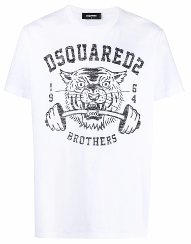CAMISETA TIGER BROTHERS BLANCA