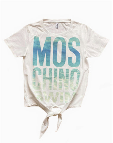 CAMISETA MOSCHINO SWIM NUDO