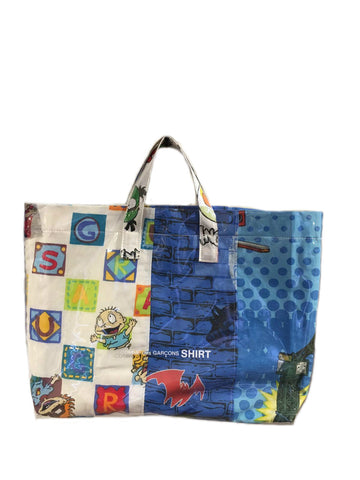 SHOPPER PVC PATCHWORK