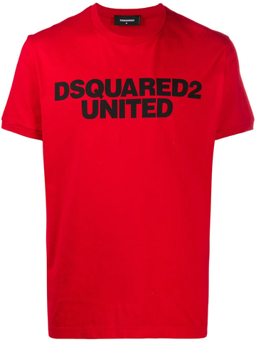 CAMISETA DSQUARED2 UNITED ROJA