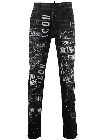 VAQUEROS GRAFFITI ICON COOL GUY JEANS