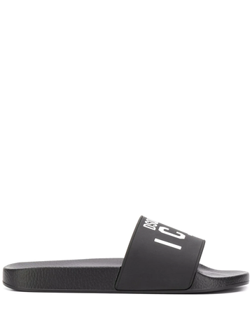 CHANCLAS ICON NEGRO